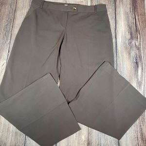 Cabi 387 Wide Leg Trouser Pants brown size 12